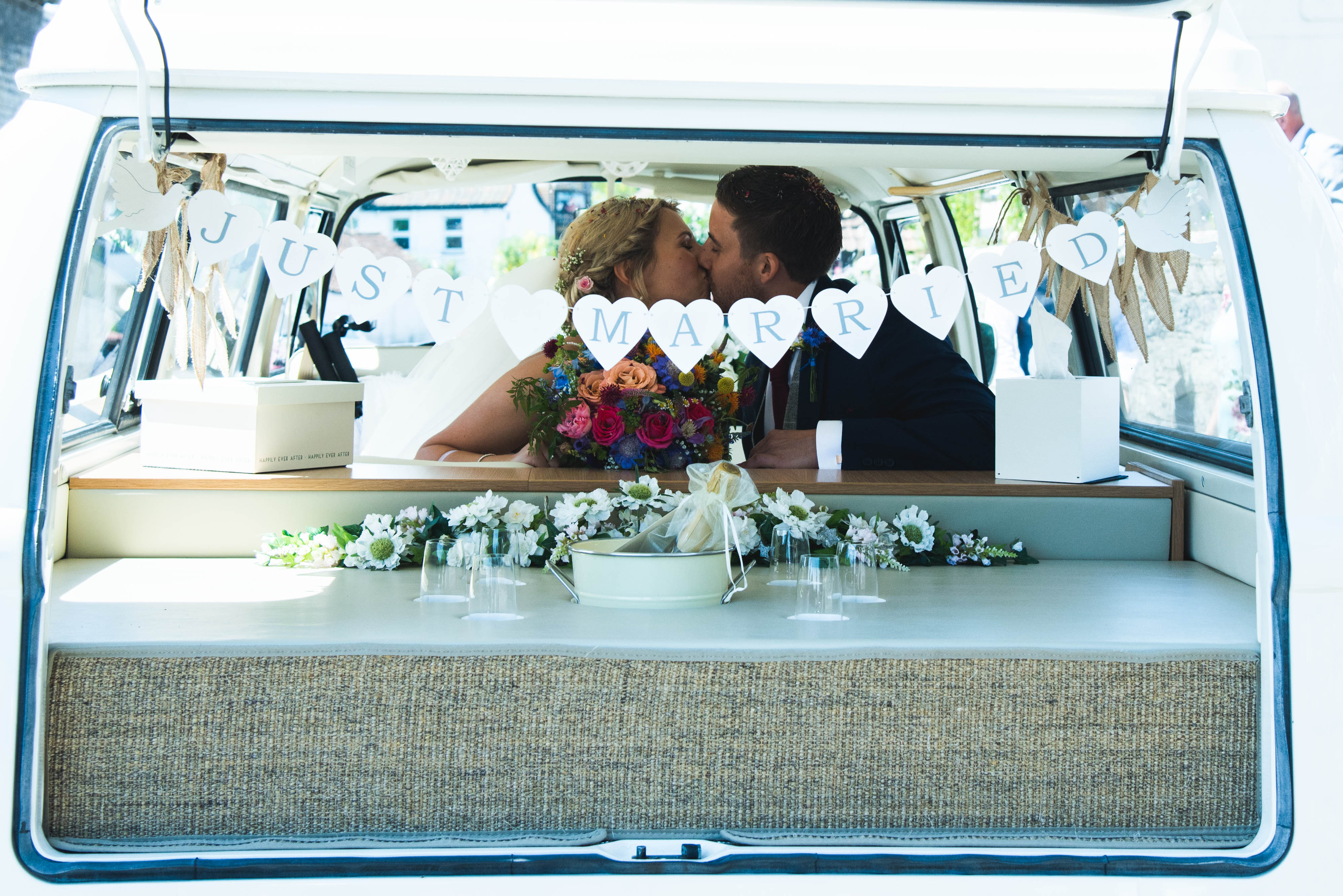 Share a moment Somerset Wedding Campervans